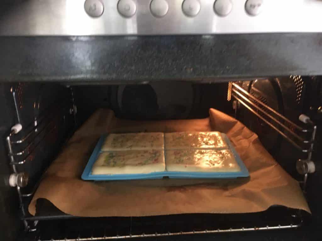 Luikse wafels in de oven