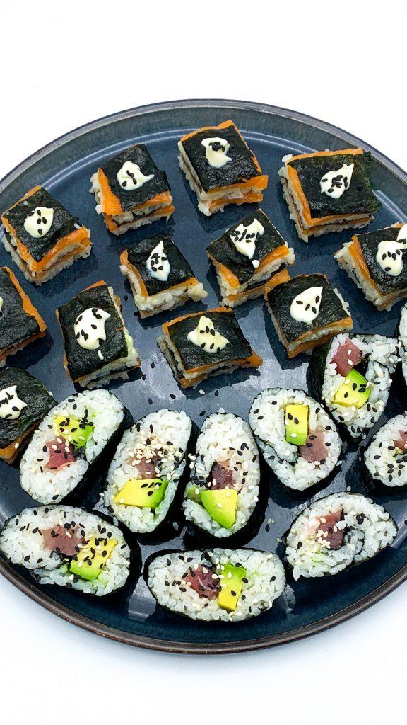 Sushi gemaakt met sushi rijst 2