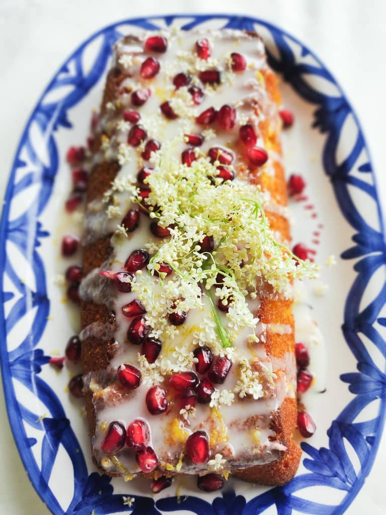 Vlierbloesemcake met polenta en citroen 2